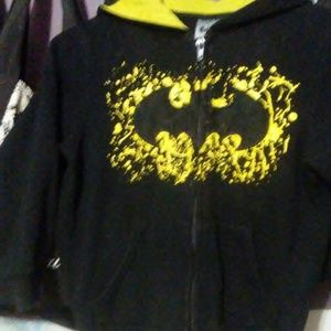 3/$10🍥Batman zip up hoodie size 5/6
